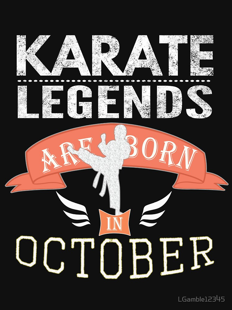 Karate legends are born in October Boys by LGamble12345