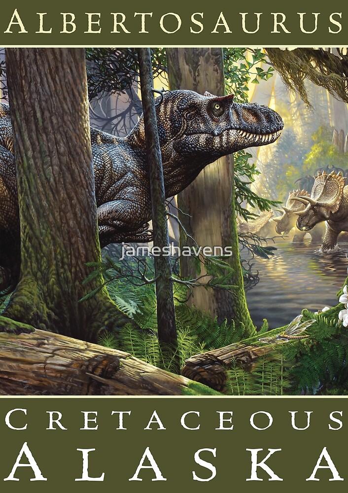 Albertosaurus / Cretaceous Alaska by James Havens  by jameshavens