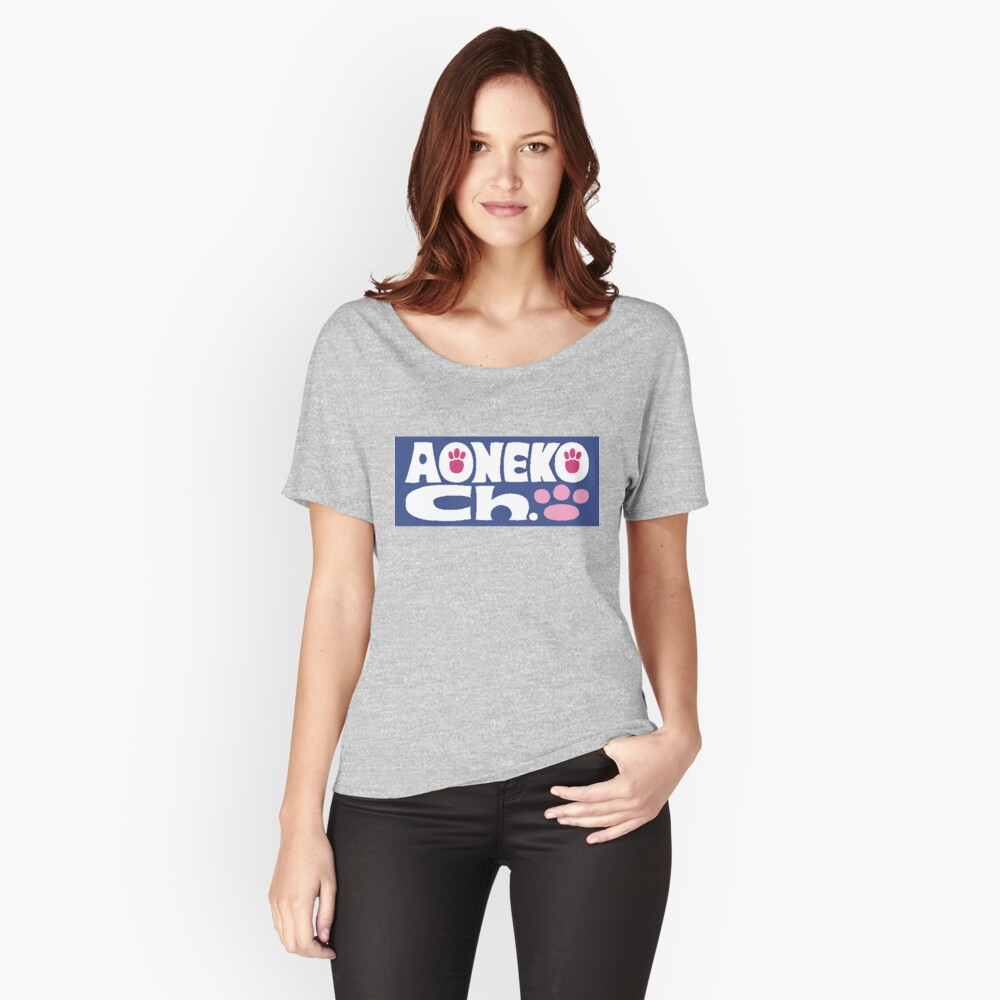 Aoneko Channel! Women's Relaxed Fit T-Shirt Front