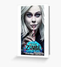iZombie - Edit - The CW - TV show series Greeting Card