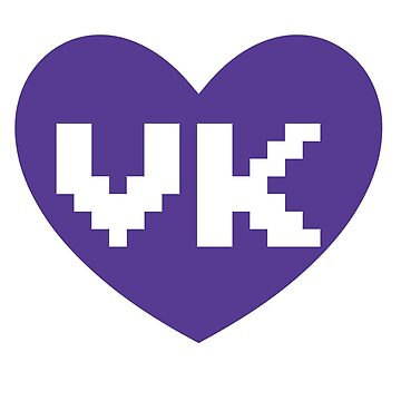 Purple VK Heart by vanillak1tty