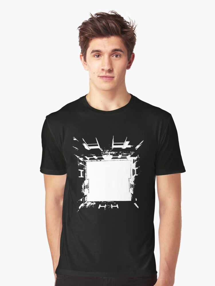 Courtyard Graphic T-Shirt Front