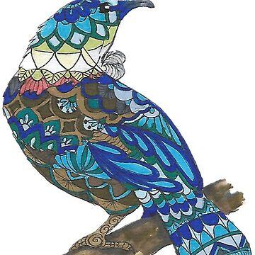 Mandala Tui  by Hummingbirdnz