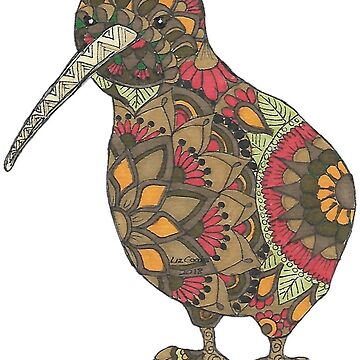 Mandala Kiwi  by Hummingbirdnz