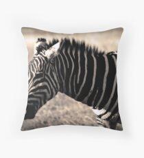 Ngorongoro Zebra Throw Pillow