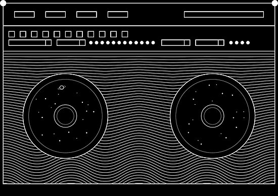 Space Boombox by tndesigns92