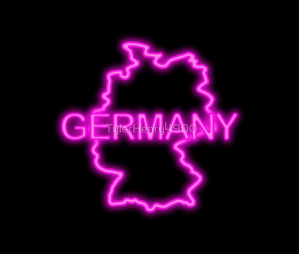 Germany neon pink by TylerHenry4900