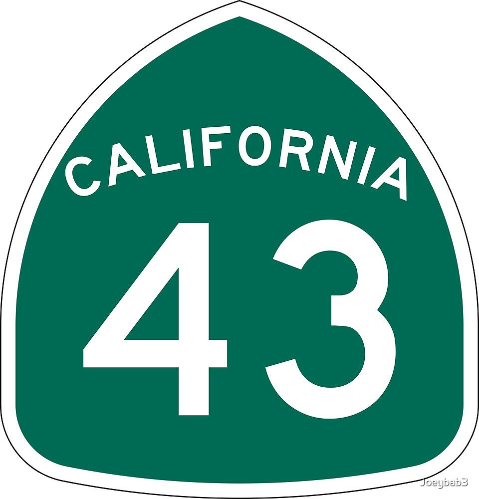 California State Route 43 by Joeybab3