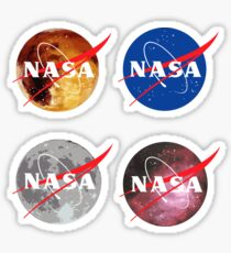 NASA-Aufkleber-Set Sticker