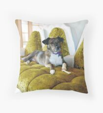 Miss Tina Throw Pillow