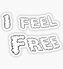 I Feel Free Sticker