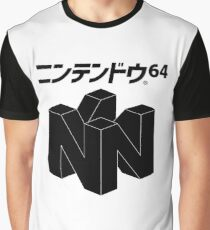 Japanese Nintendo 64 Graphic T-Shirt