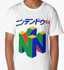 Japanese Nintendo 64 Long T-Shirt