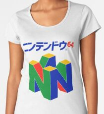 Japanese Nintendo 64 Premium Scoop T-Shirt