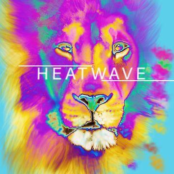 HEATWAVE LION by talisadesigns