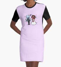 Garnet's Wedding Graphic T-Shirt Dress