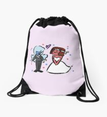 Garnet's Wedding Drawstring Bag