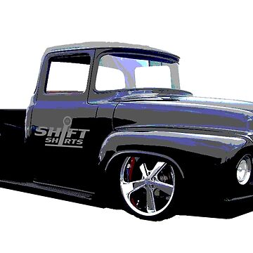 Shift Shirts Masses - Ford 67 F100 Pickup Inspired by ShiftShirts