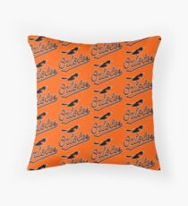 orioles baseball team balltimore Floor Pillow