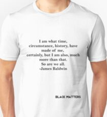 James Baldwin Quote T-Shirt