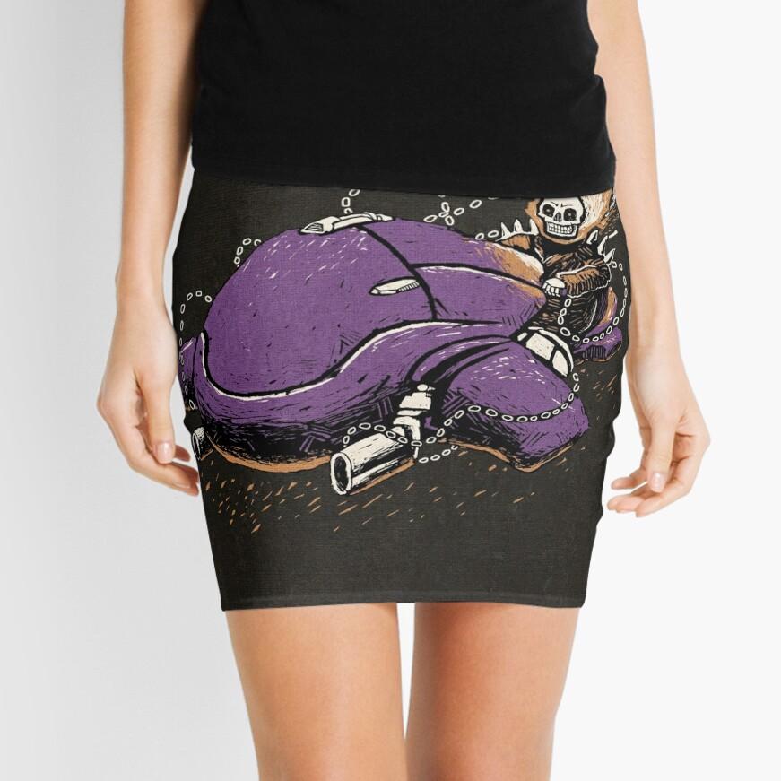 Master Rider Mini Skirt