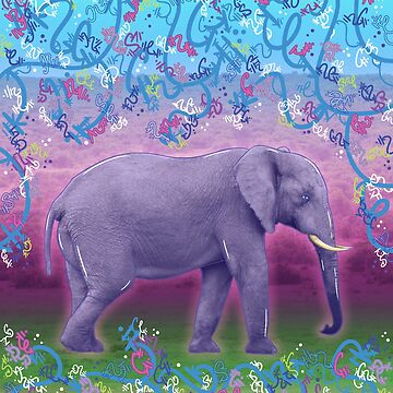 Extraordinary Little (Big) Elephant by vanillakirsty