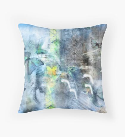 The Dissappearence of the Butterfly (APOCALYPSE SERIES) Throw Pillow