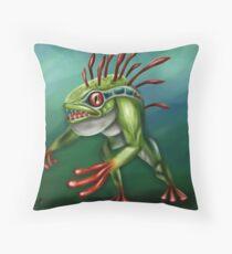Murloc Throw Pillow