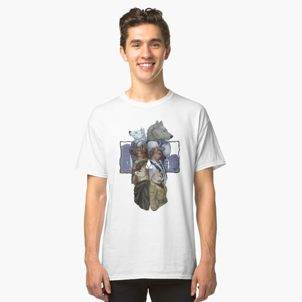 To the Past and Back Classic T-Shirt Front