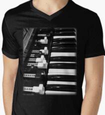 Hammond B3 Organ Men's V-Neck T-Shirt
