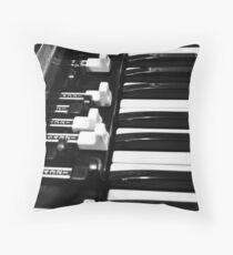 Hammond B3 Organ Throw Pillow