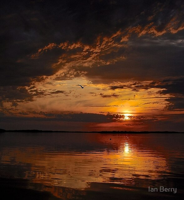 A Mysterious sunset by Ian Berry