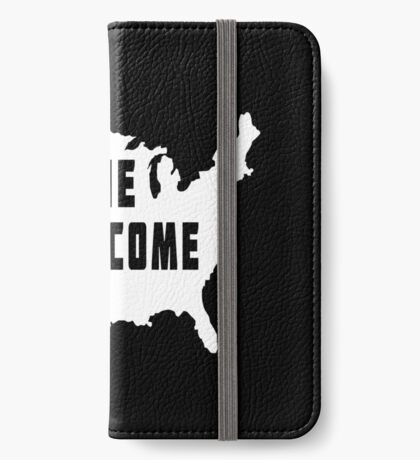 USA Everyone Is Welcome iPhone Wallet