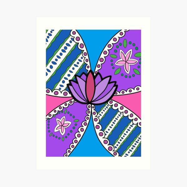 Lotus in Color Art Print