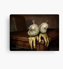 time on your hands Canvas Print