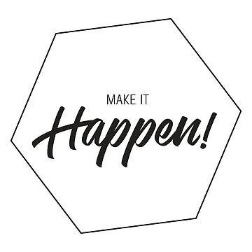 Inspiring Gifts for Entrepreneurs #3 - Black on White by SKKSdesign