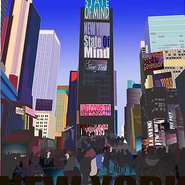 New York NY by ManuelAngel
