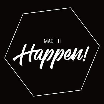 Inspiring Gifts for Entrepreneurs #3 - White on Black by SKKSdesign