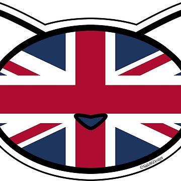 Meow Union Jack by MeowMusic