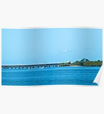 Hornibrook bridge view dohles rocks road,griffin Poster