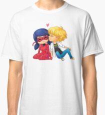 Camiseta clásica Chibi Ladrien Kiss