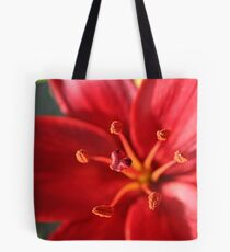 Red Outburst Tote Bag