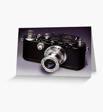 Leica Greeting Card