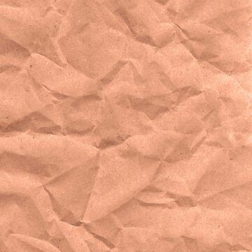 Kraft paper. crumpled paper by EkaterinaP