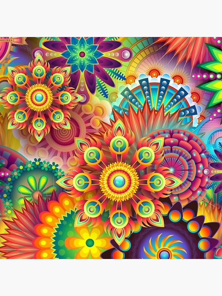 Farbenfroh - Abstrakt von V1rgil