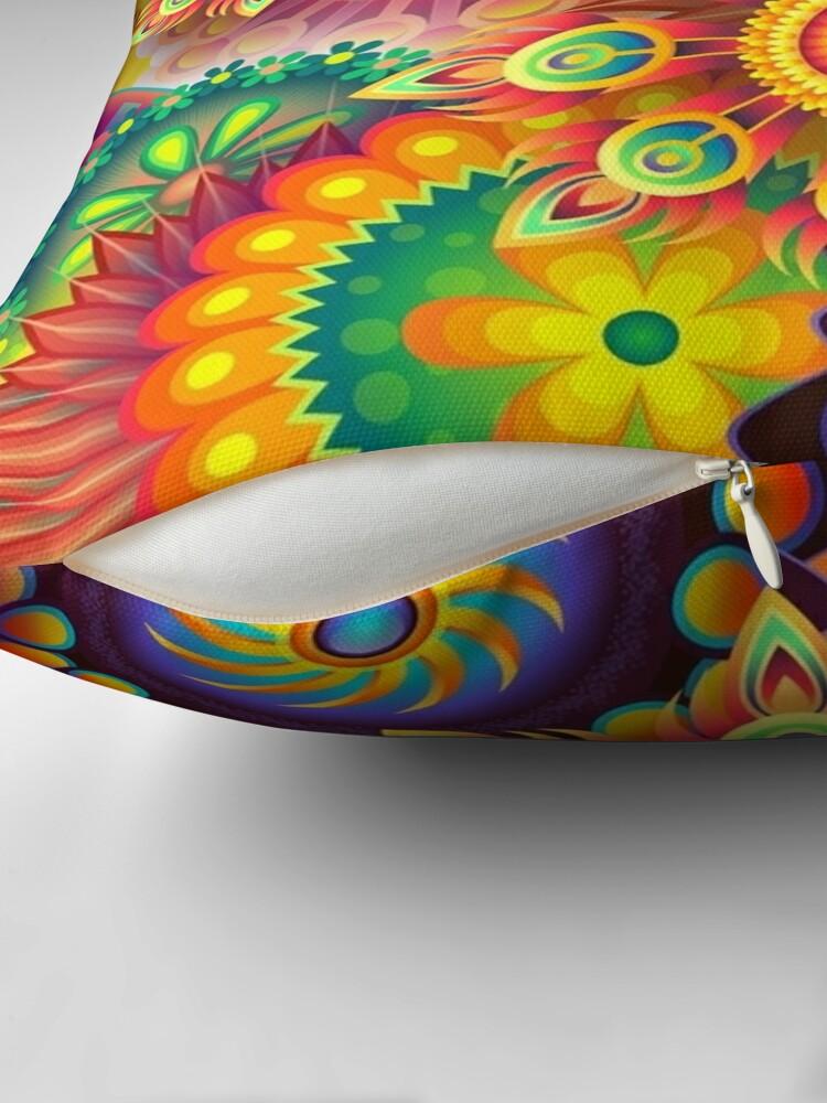 Alternative Ansicht von Farbenfroh - Abstrakt Dekokissen