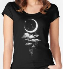 Moon Swing Fitted Scoop T-Shirt