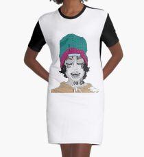 Wake Up Lil Xan Graphic T-Shirt Dress