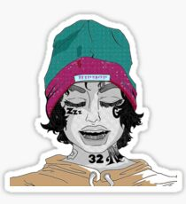 Wake Up Lil Xan Sticker