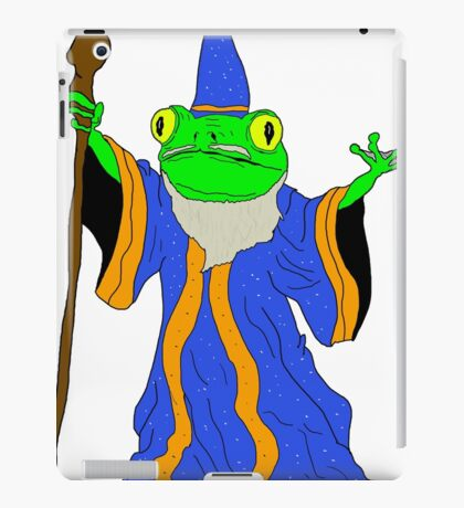 The Wizard of the Pond.  iPad Case/Skin
